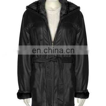 Ladies' Leather Coats ( L J - 004 )
