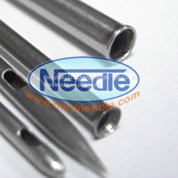 Flat Closed end tubing