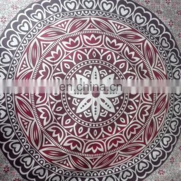 Large Indian Mandala Tapestry Hippie Wall Hanging Throw Bedspread Tapestry Decorative Wall Hanging , Picnic multi color tapestry