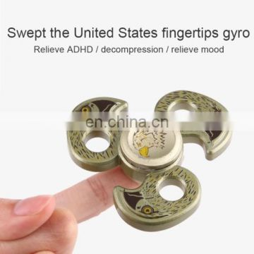 Wholesale Dropshipping Coloful Candy Fidget Spinner,Stress reducer Fidget Anti-Anxiety Spinner Toy