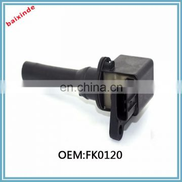 ignition coil OEM#: FK0120 FOR Mitsubishi WAGON ENGINE 3G83