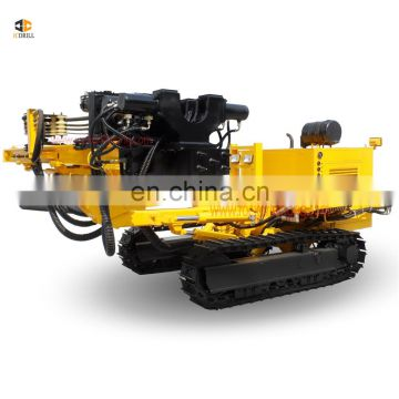 Wide range capacity 60m top drive crawler drilling all hydraulic drill rig machine anchor for road construction