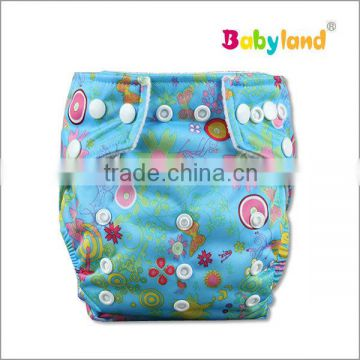 Babyland Baby Cloth Diaper Bamboo Charcoal Fiber Baby Cloth Diapers Baby Diapers Manufacturer in china                                                                                                         Supplier's Choice