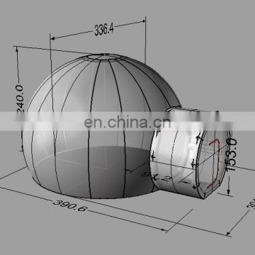 hot sale inflatable bubble tent