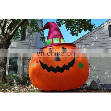halloween inflatable pumpkin decorations for indoor and outdoor