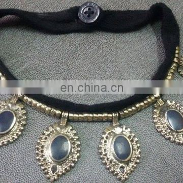 (KN-0001) Afghan kuchi necklace