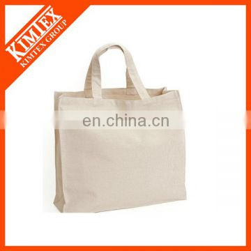 Factory professional custom standard size blank tote bag