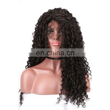 Brazilian virgin hair preplucked deep wave full lace human hair wig