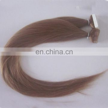 diy tape in hair extensions Brazilian Skin Weft,PU Weft,Walker Blue Tape,