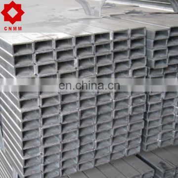 Mild steel galvanized hollow section/pre-galvanized galvanized pipe
