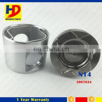 Diesel Spare Parts N14 Aluminum Engine Piston 3087634
