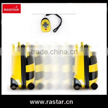 RASTAR designed patent battery travel luggage bag for kids with remote control