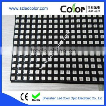 APA102 660LEDs P10 programmable led display panel screen