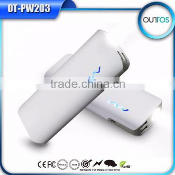 high capacity high quality power bank 11000mah with dual usb output