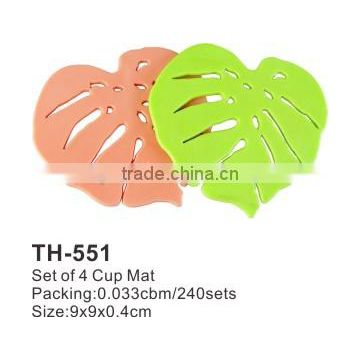 Hot Set Of 7 Cup Mat/ Bathroom Mat Set TH551