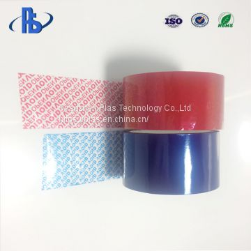 Custom Printing Tamper Evident Carton sealing Security VOID open tape