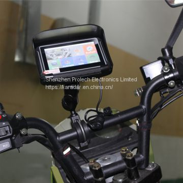 High quality BT 4.3 inch waterproof gps navigator for automobiles & motorcycles
