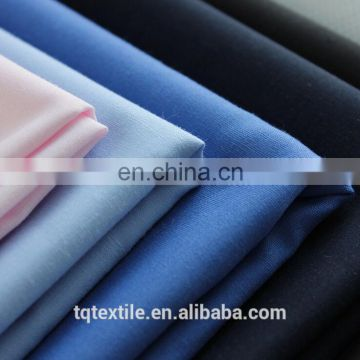 65% Polyester 35% Cotton 133x72 Fabric TC Plain Dyed Shirt Woven Combed Fabric