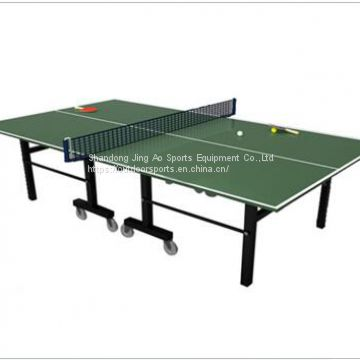 Cheap outdoor Moveable Table Tennis Table / Exercise Equipment