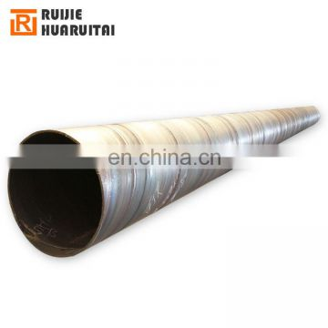 API 5L X70 PSL2 SSAW 3LPE Anti-corrosion spiral welded steel pipe for construction