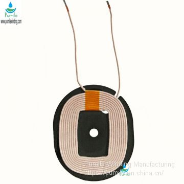 Qi Charging Reciever Coil Enameled Magnet Wire Coil Copper Winding Coil