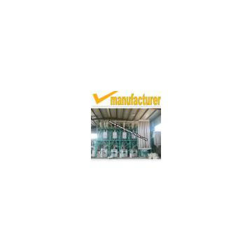 200 ton wheat flour production line,maize grits machinery,corn flour mill