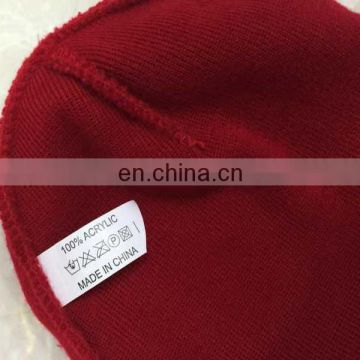 Beanie Cap With 100%Acrylic Customized Logo And Colorful Colors Are Welcome
