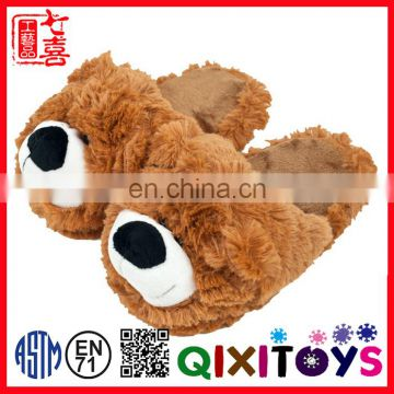 China Top Quality Custom Design teddy bear slippers