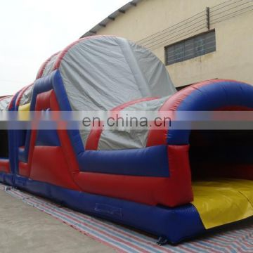 giant enclosed inflatable obstacle course