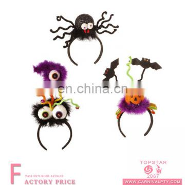 Adult halloween party headband spider on the top evil headband for party