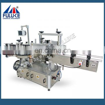 FLK CE aotumatics round and flat bottles digital abeling machine