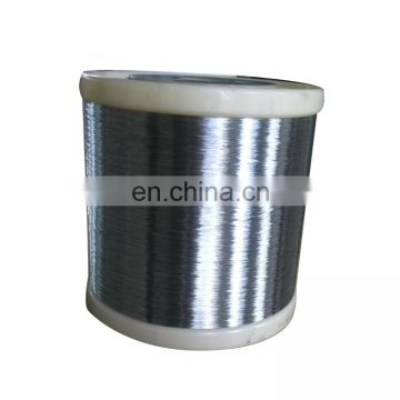 HOT SALE Manufacturer galvanized 0.13-0.20mm gi spool wire for clean ball