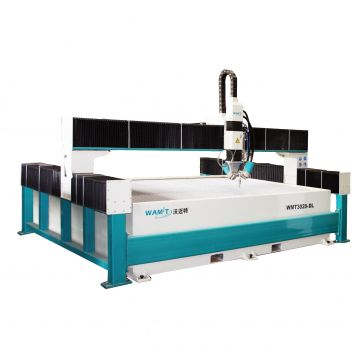 Supplier price steel waterjet cutting machine with intensifier pump