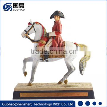 Custom resin figures military decoration