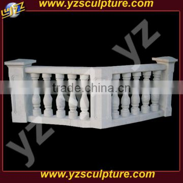 outdoor decorative white stone balustrade for sale