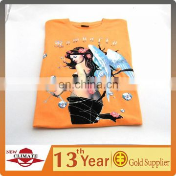Fashion printed 100% cotton t-shirts