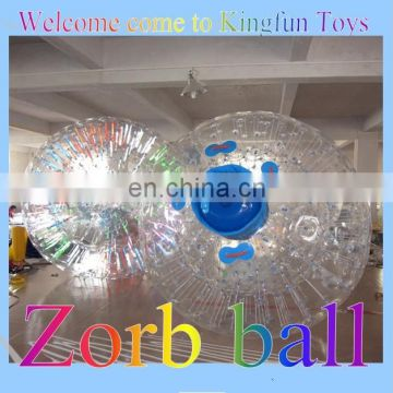 Inflatable Zorb Ball /Zorbing Ball for zorb ramp