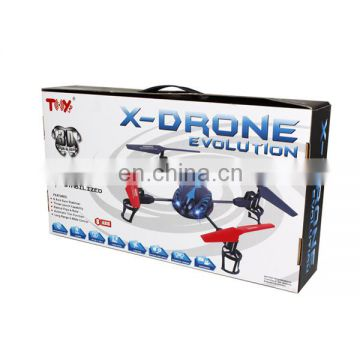 Hight quality 2.4G 4CH RC drone quadcopter UFO with certificate