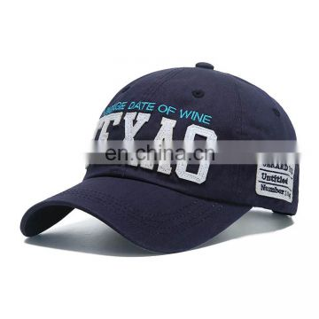 Wholesale Fashion Patch High Quality promotion Custom Cotton Baseball Cap