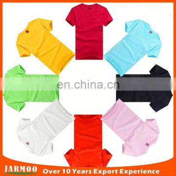 High quality colorful healthy shorts sleeve t shirts