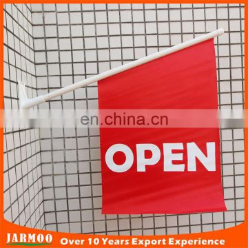 customized size durable open wall banners