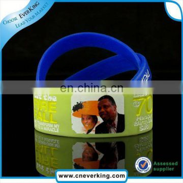 Fashion charm silicon rubber band wholesale