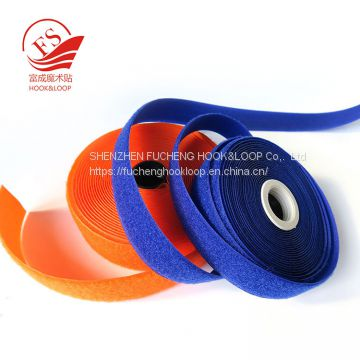 Sewing on tape hook and loop fasteners tape