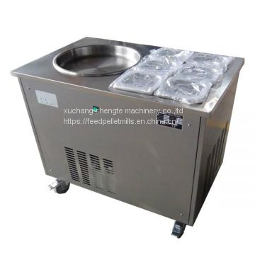 commercial cake shop ice yogurt frying machine / snack fried ice cream machine