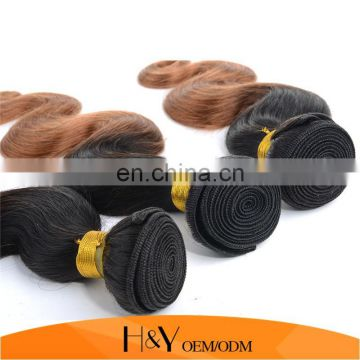 Aliexpress Hair 8A Brazilian Virgin Hair Body Wave Ombre Color 1B/30 on Wholesale