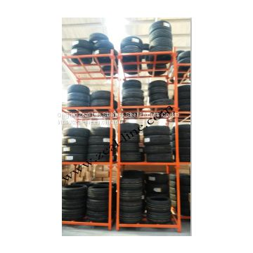 Warehouse Stacking Storage Truck Pallet Tyre Rack Without Mesh