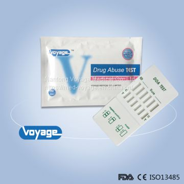 CE FDA Approved Urine drug panel test diagnostic test kits cassette