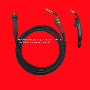 European 200A CO₂ welding torches customizing the length according to the requirements
