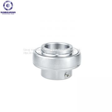 SUNBEARING Pillow Block Bearing UC213 Silver 65*120*65.1mm Stainless Steel GCR15