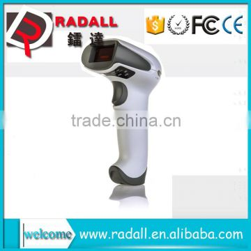 RD-1908 Barcode Scanner Handheld 120 times/sec Manual/Automatic wireless  long range barcode scanners with memory